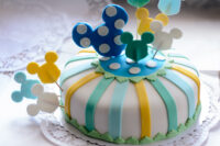 Mickey mousse taart 3D taart